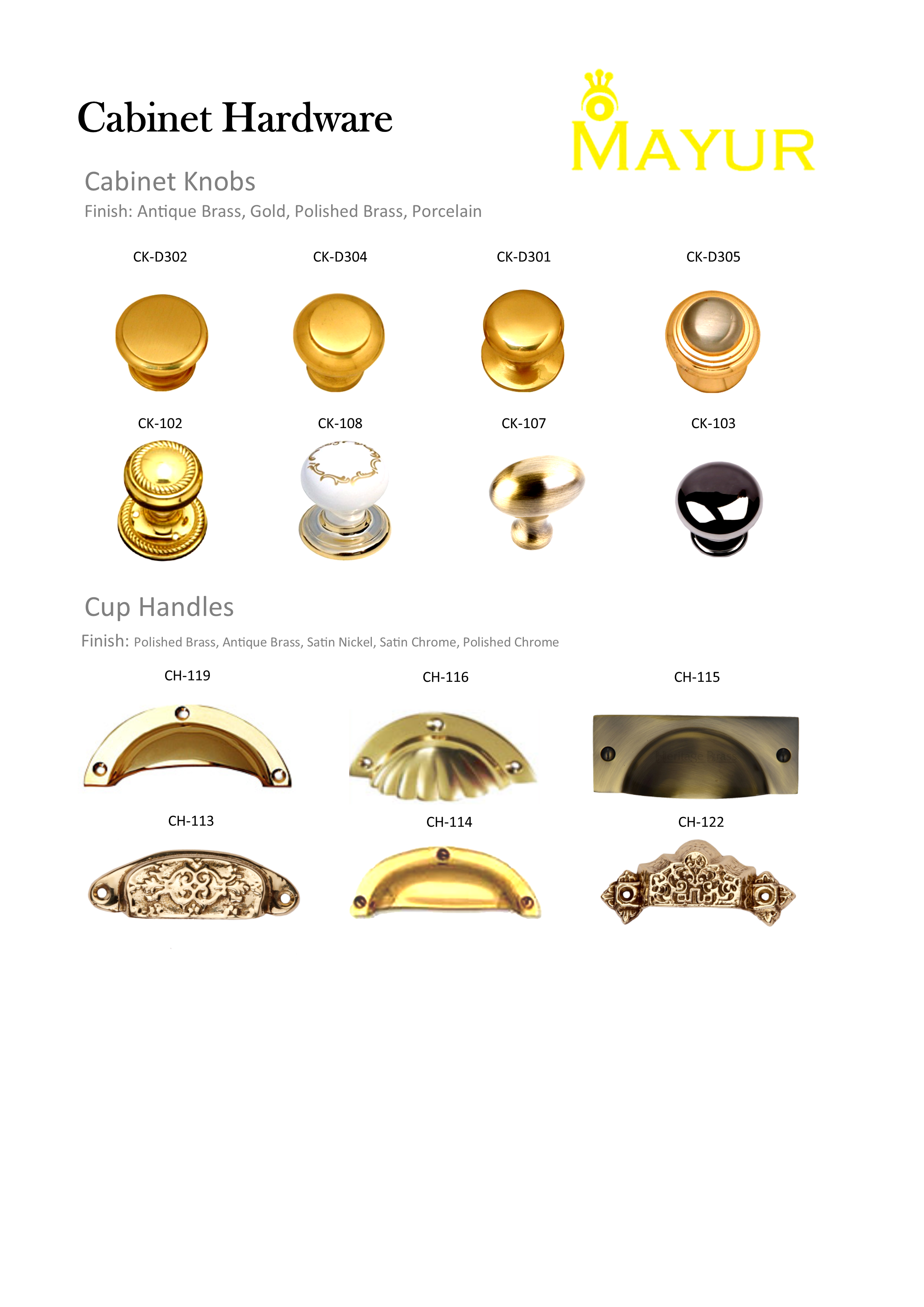Manufacturer Retail And Export Of Brass Builder Hardware